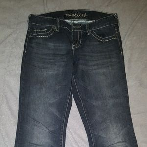 Maurice's flare leg jeans